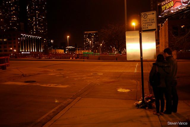 Fatal pedestrian crash location