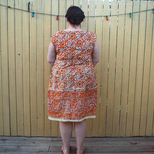 Washi Dress V2 back