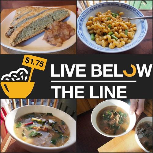 Day 4 Menu - Live Below The Line