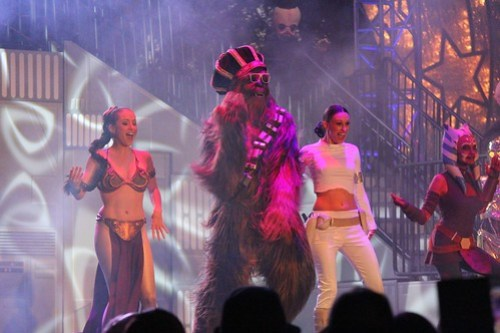 Dance-Off With the Star Wars Stars 2013 at Walt Disney World