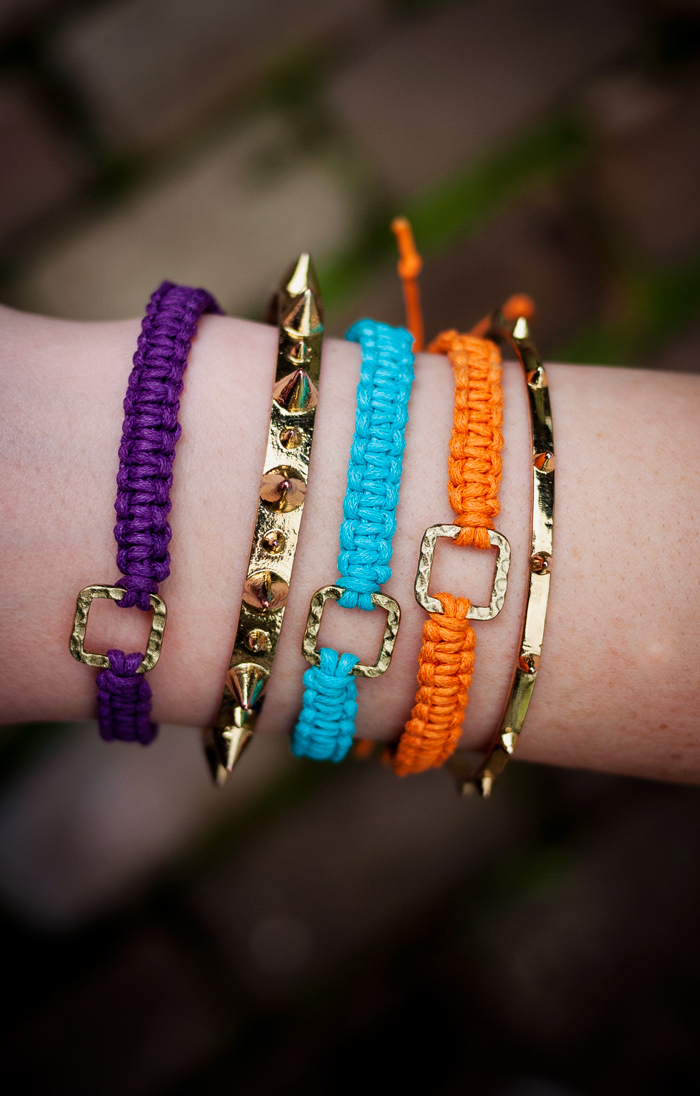 do it yourself macrame friendship bracelets