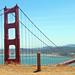 Me at the Golden Gate Bridge