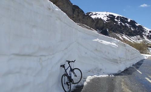 Cormet de Roselend - Snow Wall