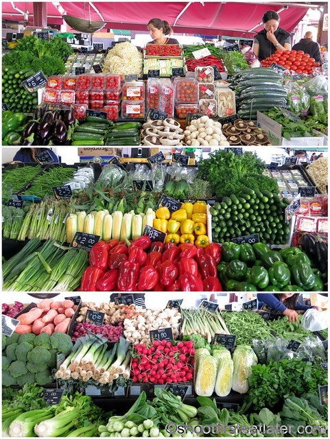 Queen Victoria Market- vegetables