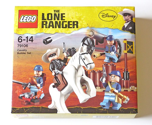 The Lone Ranger 79106 Cavalry Builder Set box01