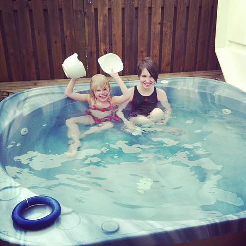Hot tub nice!