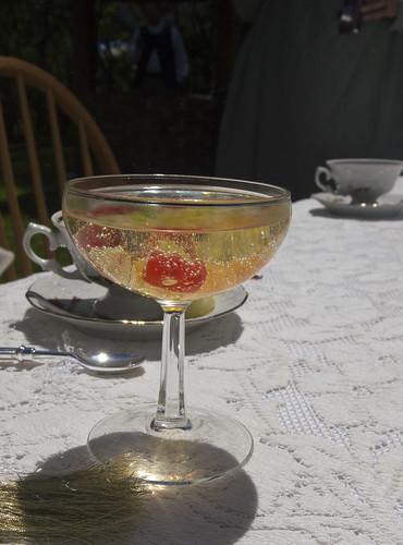 Champagne and Gummi Bears