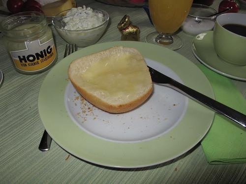 Honigbrötchen am Ostersonntag