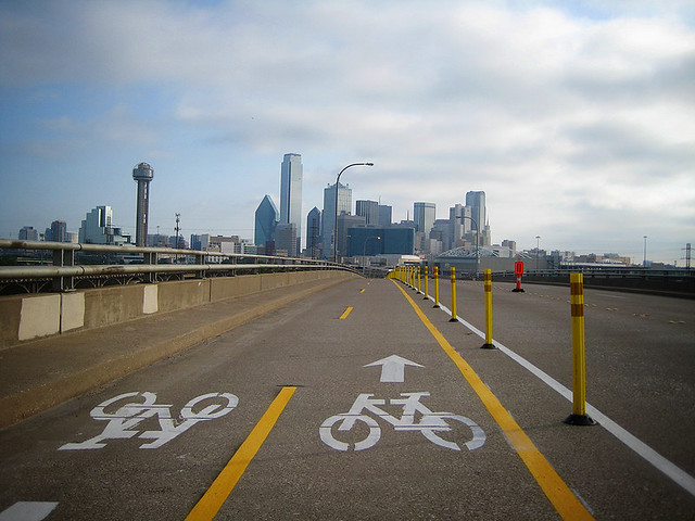 Cycle Tracks Dallas - Jefferson Bridge
