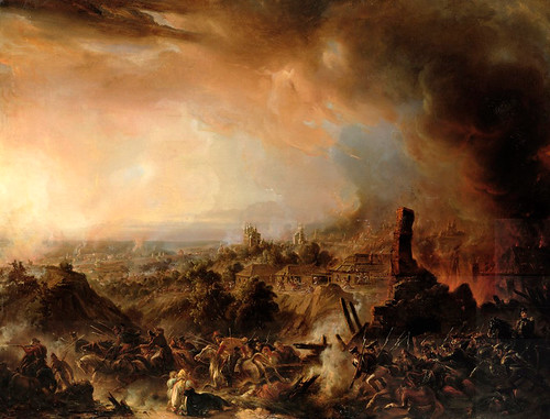 The Burning of Moscow in 1812