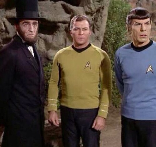 Advising Capt. Kirk and Mr. Spock