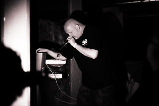 Leæther Strip 25:th Anniversary show @ Ballroom, Henriksberg, Göteborg - 12