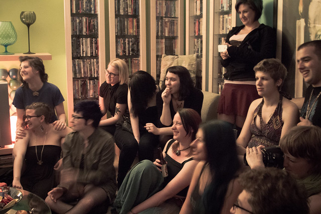 Amanda Palmer, Kickstarter House party, Portland Oregon