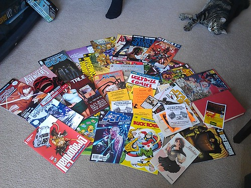 Free Comic Book Day goodies!