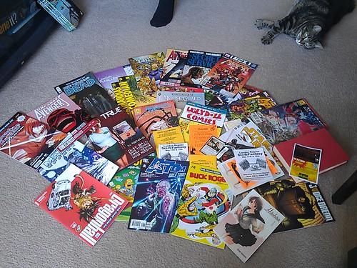 Free Comic Book Day goodies!