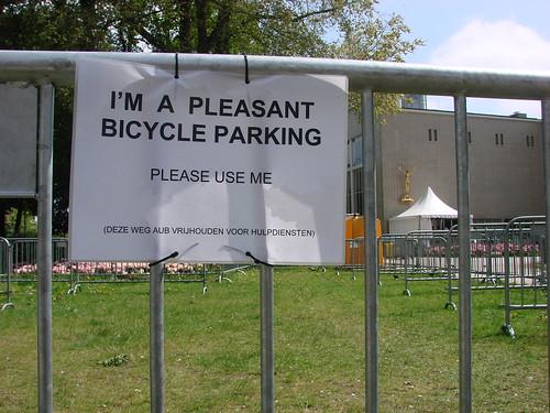 Pleasant Bicycle Parking