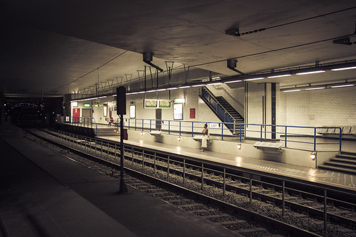 Subterranean Solitude (Station de métro Albert, Bruxelles) - Photo : Gilderic