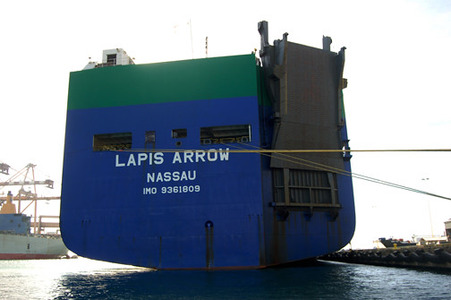 Lapis Arrow stern
