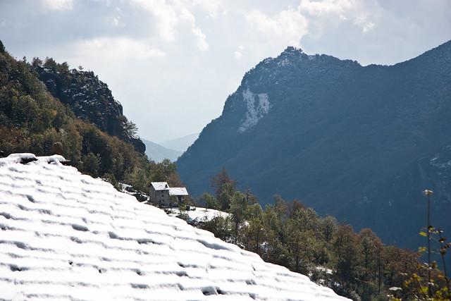 Vonzo, panorama sulla valle