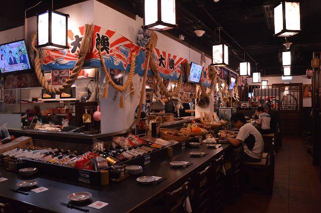 貍爐端燒 日式料理(捷運中山站)~體驗船漿送菜的樂趣.讓人彷彿置身於日本居酒屋 @ 寶小銘的天空 :: 痞客邦