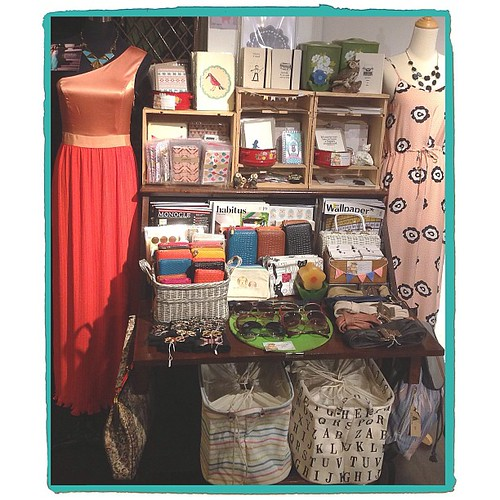 New arrivals just hit the shelves! Come by the shop and check it out :) Happy Weekend!