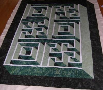 Labyrinth Walk - Basted