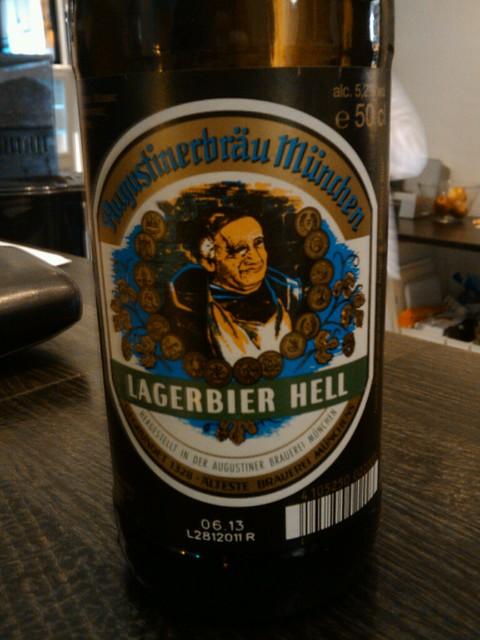 Wot no proper beer...?!