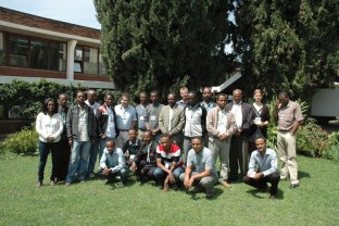 Participants of the SLATE training( 1 - 5 April 2013)