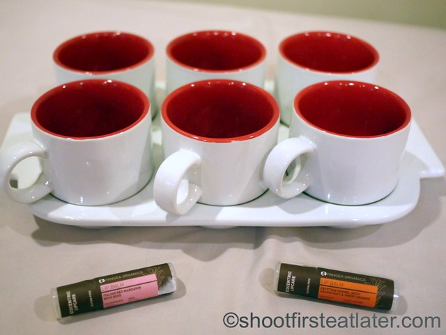 Taste Central - Crate & Barrel's Red Pick Me Up Mugs with Tray