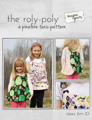 the roly-poly, a pinafore tunic pattern