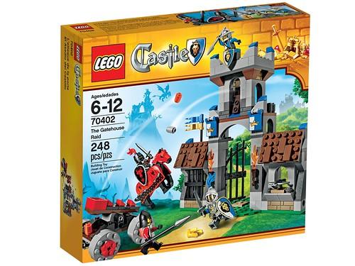 LEGO Castle 2013 70402 The Gatehouse Raid Box