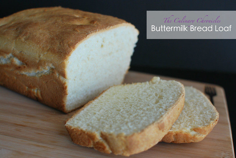 Buttermilk Bread Loaf