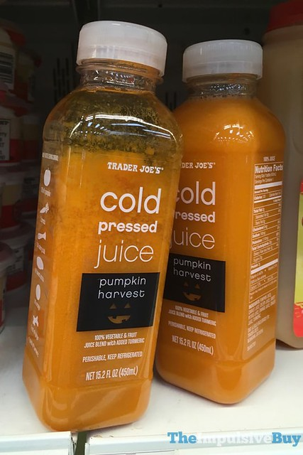 Trader Joe's Pumpkin Harvest Cold Pressed Juice
