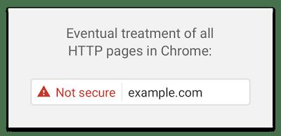 Google Chrome Non-HTTPS Warnings