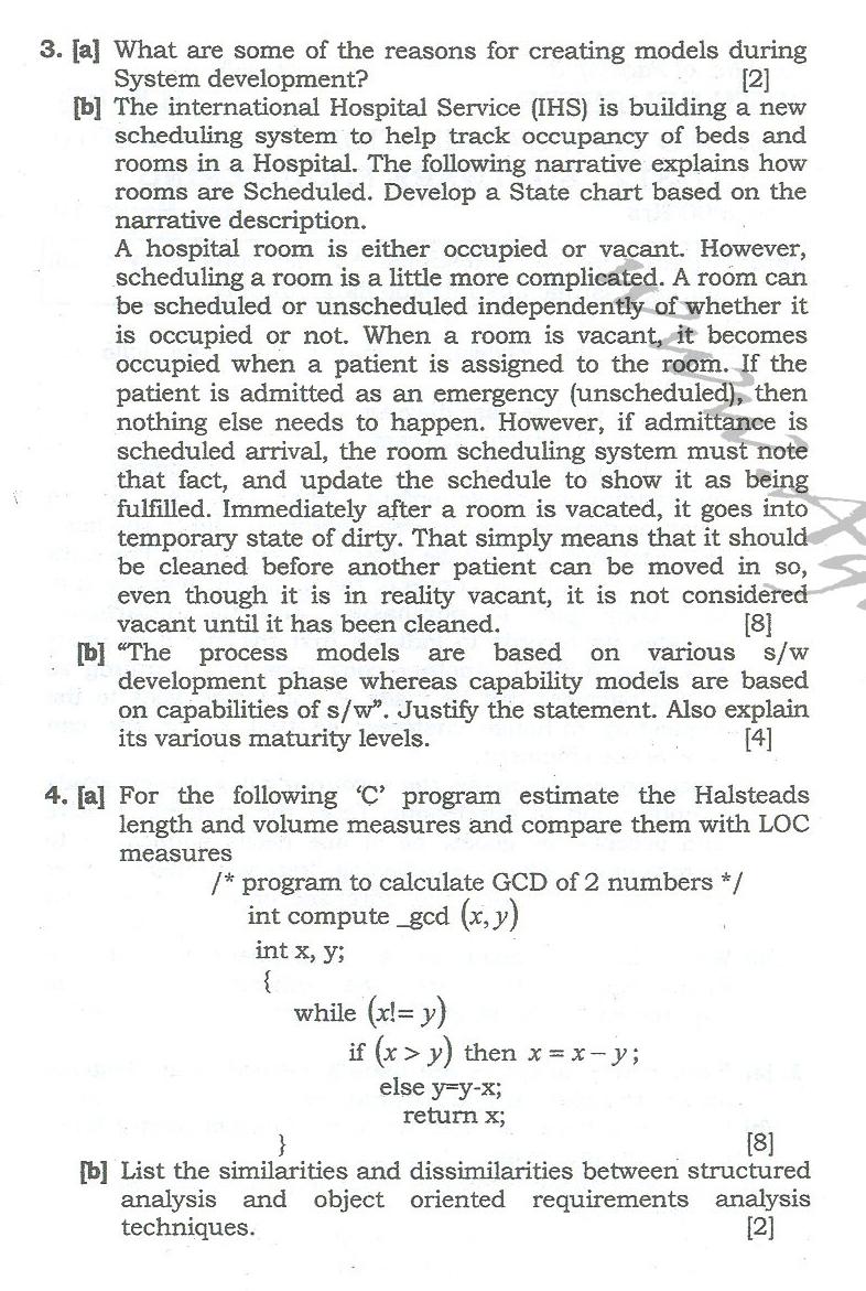 DTU Question Papers 2010 – 6 Semester - End Sem - IT-312