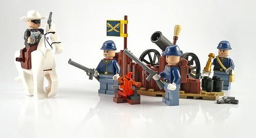 The Lone Ranger 79106 Cavalry Builder Set set06