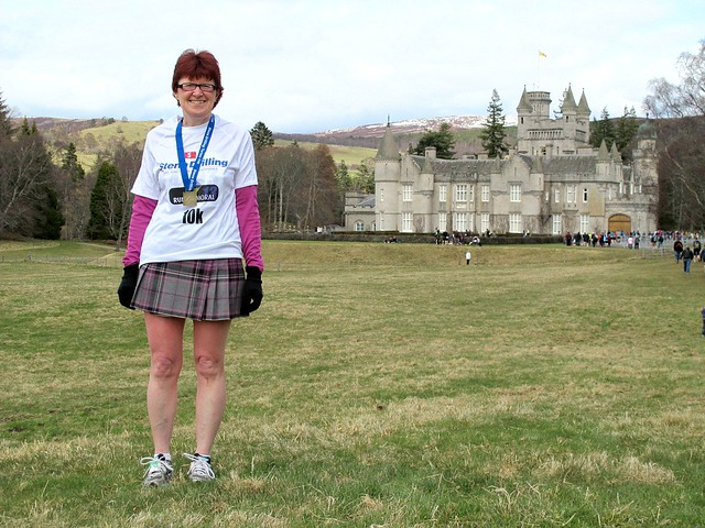 Yay! Did it - Run Balmoral Tartan 10K
