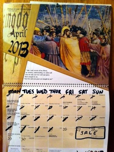 Estate sale calendar