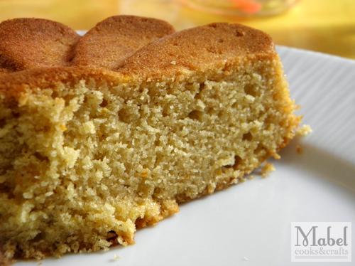 Navel orange pound cake