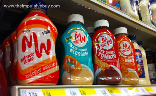 Miracle Whip Secret Burger Sauce and new Sauces