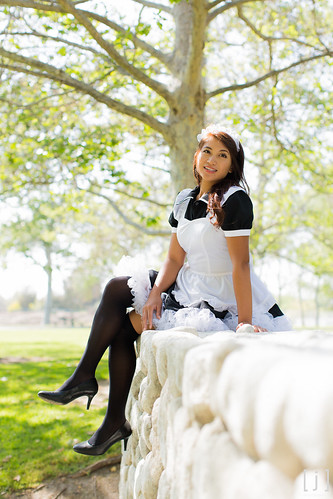 Behind the Scenes: Anime Expo Maid Cafe 2013 Portrait Session - 18