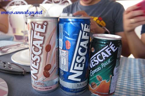 nescafe in can