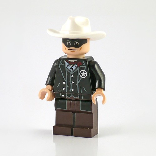 The Lone Ranger 79106 Cavalry Builder Set figs01
