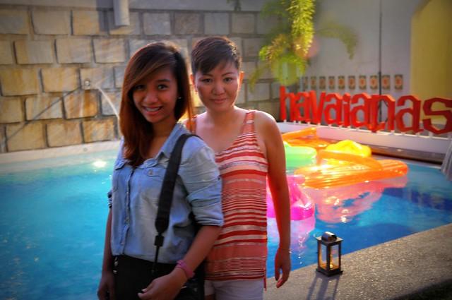 With Happy Raine