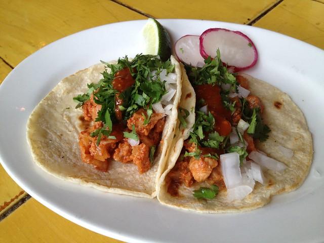 Tacos al pastor - La Carta de Oaxaca