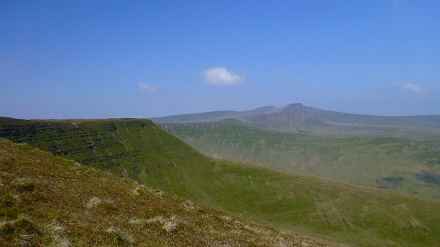 Pen y Fan, Corn Du, Cribyn