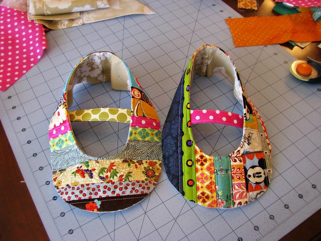Quilted Shoes Uppers