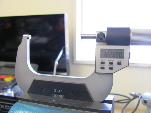 Setting Bore Gauge Reference Diameter on Micrometer
