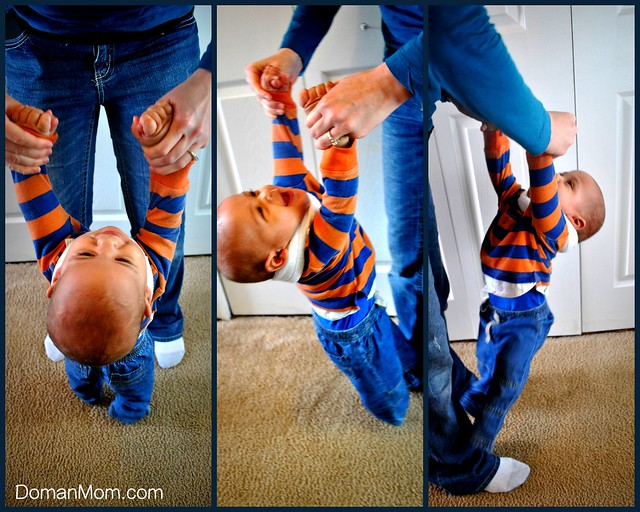 Fun & brain-building vestibular stimulation activities for your baby