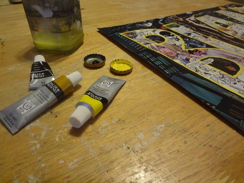 Tiny paint palettes